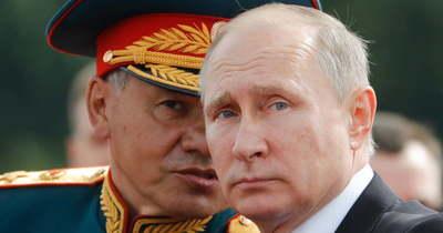 A frontvonalra hívták Putyint