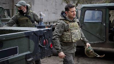 Az ukrán elnök a frontvonalon találkozna Putyinnal