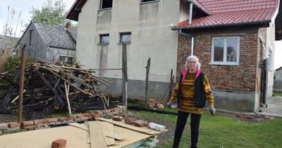 A pusztító tűz után újra van tető a letenyei Bajszné Dara Julianna feje felett