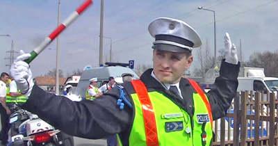 Rendőri intézkedések a Szigeti úton – balesethez, bűncselekményhez riasztották őket