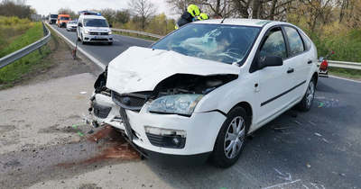 Megsérült az okozó a vasvári autóbalesetben