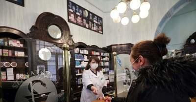 Bezuhant a gyógyszerforgalom Budapesten