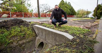 Elkezdődött a belvízprojekt Hunyán