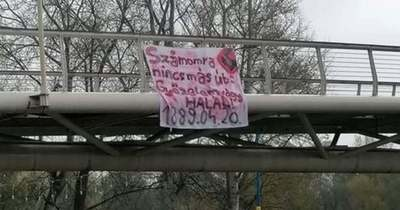 Horogkeresztes molinóval lázítanak hungaristák Szolnokon
