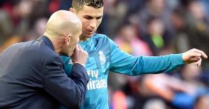 Real Madrid: ezt tiltotta meg C. Ronaldónak Zidane