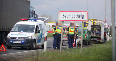 Forgalomból kivont autóval okozott balesetet egy férfi Szombathely határában