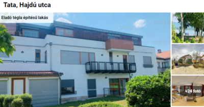 Íme Komárom-Esztergom legdrágább lakása: 485 millióért ezt kapod