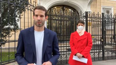 Levelet vitt Fekete-Győr András az orosz nagykövetnek
