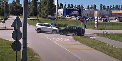 Ritkán látható videót tett közzé a magyar rendőrség egy elátkozott kereszteződésről
