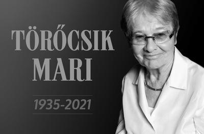 Meghalt a férfi, aki Törőcsik Mari legfőbb támasza volt az elmúlt húsz évben