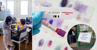 Megjöttek a legfrissebb adatok, ennyi új fertőzöttet regisztráltak
