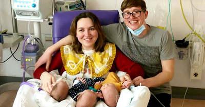 Hét perc alatt szülte meg három gyerekét a nő – Fotó!