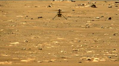 Magasabbra repült második útján a Marson a NASA helikoptere