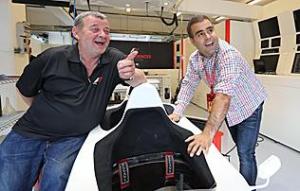 Baumgartner Zsolt ismét F1-es autóval száguld a Magyar GP-n