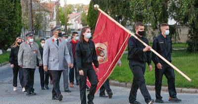 Elismertek és előléptettek számos vasi tűzoltót Szent Flórián napján