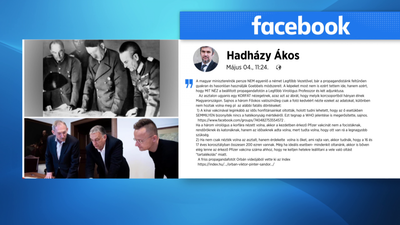 Hitlerhez hasonlította Orbán Viktort Hadházy Ákos