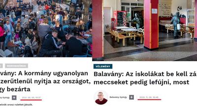 Hont András (Facebook): Balavány Györgynek nem erőssége a memória
