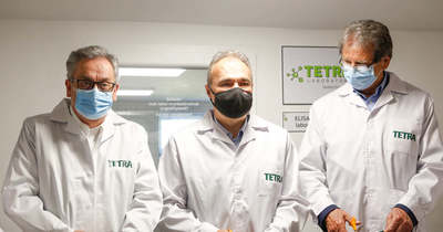 Modern labort avattak fel Uraiújfaluban