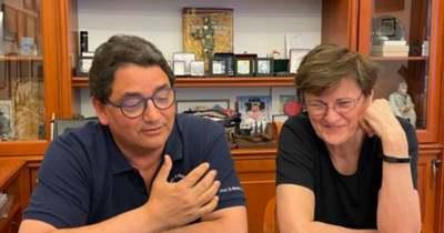 Karikó Katalin találkozott Merkely Bélával
