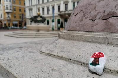 Festett vándorkövek indultak útnak Szegeden