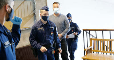 Botrány a bíróság előtt, a sértettek az épület előtt várták Fekete Dávidot