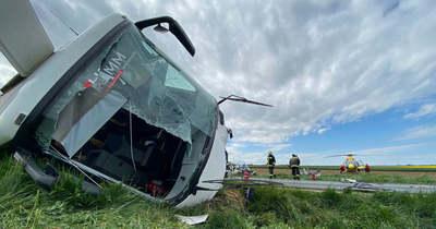 Pápai munkások is megsérültek a celldömölki halálos buszbalesetben