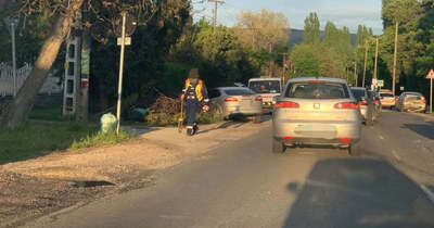 Négy autó ütközött Tata legújabb zebrájánál, sérült is van