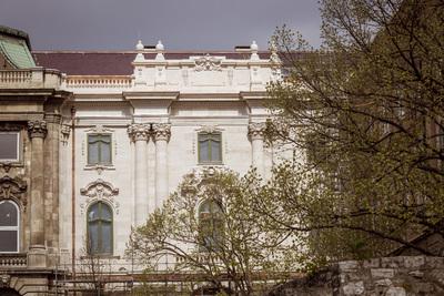 Elkészült a Budavári Palota első helyreállított épületrésze - nézze meg a képeket!