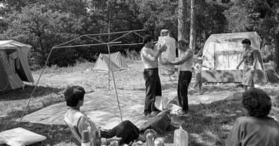 A 60-as években nyitotta meg kapuit a Mandulás Kemping