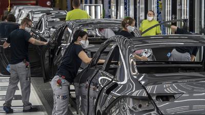Márciusban magához tért a német ipari termelés