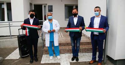 Átadták a megújult egészségházat Tiszasülyön