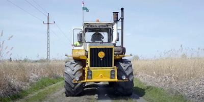 Kipróbálták a legendás magyar traktort, még ma is páratlan élményt kínál - videó