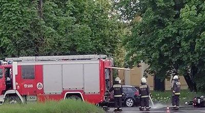 Súlyos baleset Vácon – életveszélyes állapotban vittek kórházba egy motorost