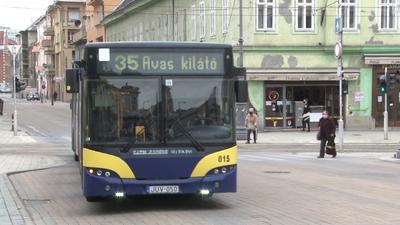 Tömegközlekedési káosz Miskolcon