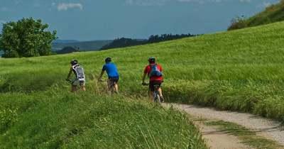 Kerékpáros zarándokutak és táborok a Balaton-felvidéken