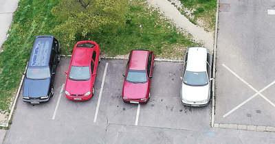 Így parkoltok ti – Veszprémben
