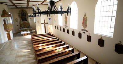 Az aszimmetrikus ópusztaszeri Magyarok Nagyasszonya templom titkai – galéria