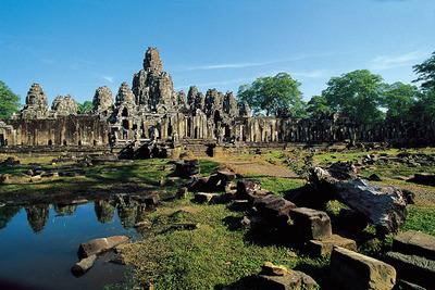 Virágkorában akár 900 ezer lakója is lehetett Angkornak