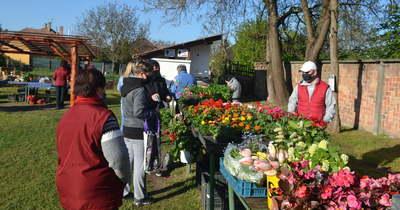 Közösségi tér is a jakabszállási piac
