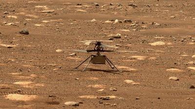 Új helyre szállt ötödik repülésén a Mars-helikopter