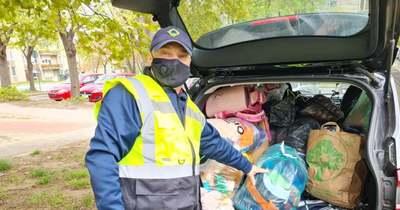 Özönlöttek az adományok a Mésztelepen élő rászoruló családoknak