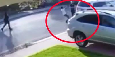 Fegyverrel akart kocsit lopni, de rossz embert választott, és kegyetlenül pórul járt - videó