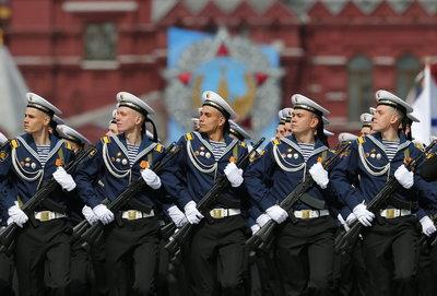 Így ünnepelték a győzelem napját Oroszországban - képek