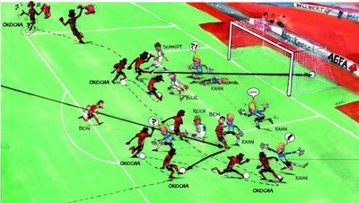 Mesék nagy gólokról: Jay-Jay Okocha gólja Oliver Kahnnak