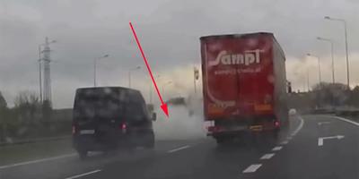 Defektet kapott a kamion, ami ezután történt, az egész életében kísérteni fogja a furgonost