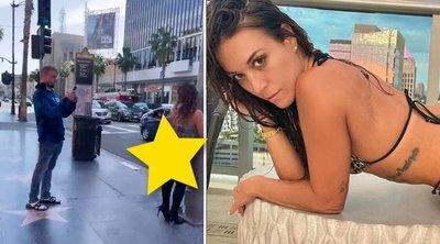 Vadidegenekkel fotóztatja magát a nyílt utcán pucsító pornós – 18+ videó