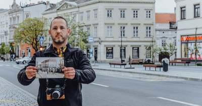 Napra pontosan száz évvel később fotózza újra a soproni helyszíneket