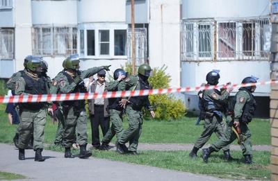 Így fogták el az egyik támadót az orosz rendőrök - videó