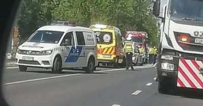 Három autó ütközött Körmenden