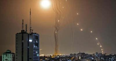 A Hamász ismét rakétaesőt zúdított Izraelre